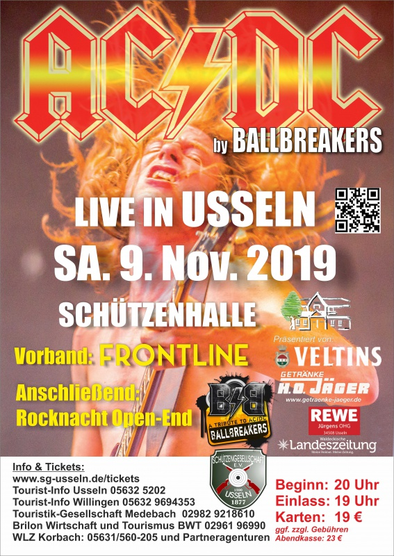 Unser Tip: Ballbreakers AC/DC Tribute Live in Usseln